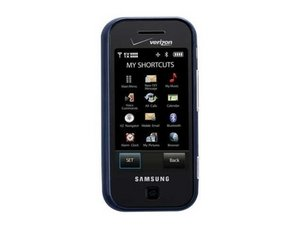 glyde repair the samsung glyde features touch screen navigation a 2    Samsung Glyde 2