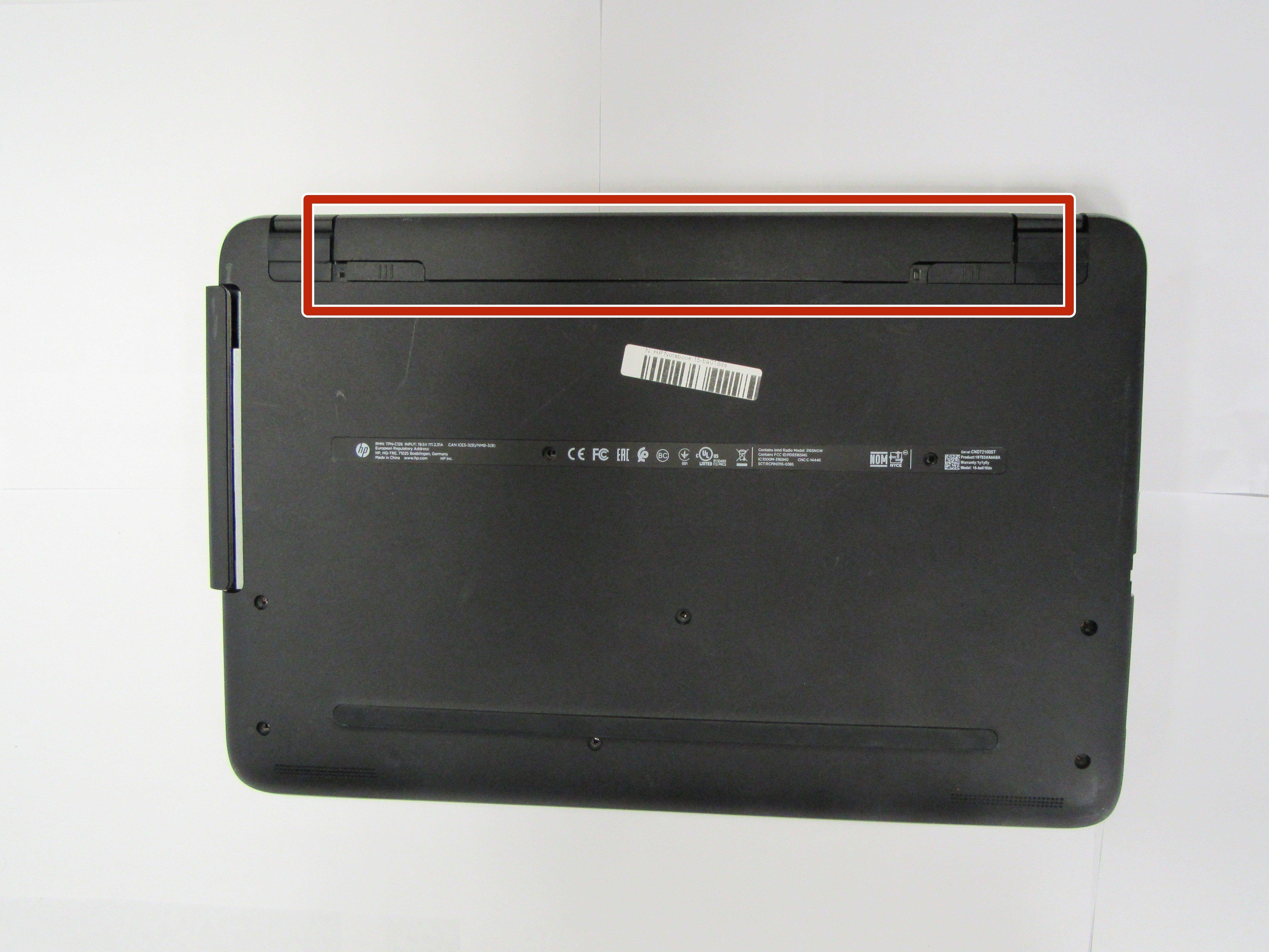 Hp Notebook 15 Ba018ds Battery Replacement Ifixit Reparaturanleitung