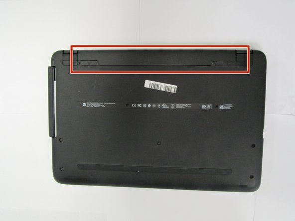 HP Notebook 15-ba018ds Battery Replacement