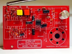 Elenco Auto-Scan FM Radio Model FM-88K Repair