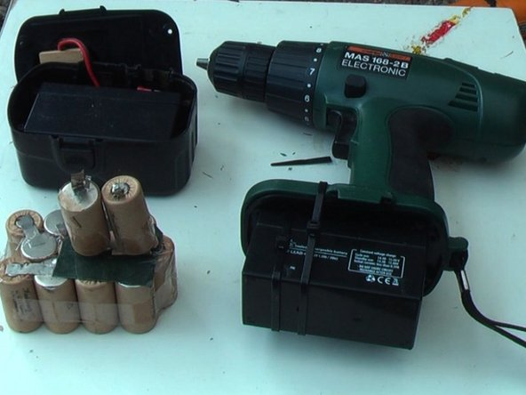 Repairing a Cordless Drill Battery