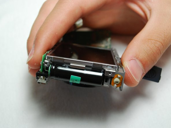 Image 2/2: Carefully lift the LCD Screen.