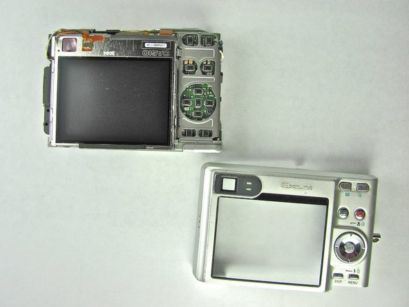 Casio Exilim EX Z55 Back Case Replacement