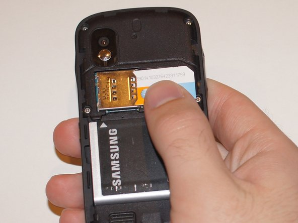 Samsung Solstice SIM Card Replacement