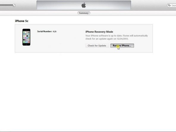 Updating firmware on iphone 5