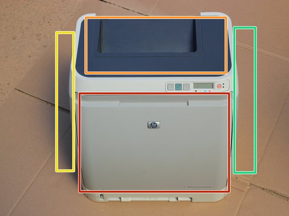 step 1 how to fix hp color laserjet 2600n fading color - Hp Color Laserjet 2600n