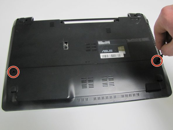 Asus K55VD Hard Drive Replacement