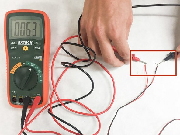 how to test speakers and wires ifixit repair guide rh ifixit com how to test wiring with a multimeter how to test wiring harness