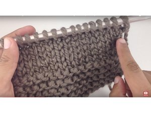 How to Stockinette Stitch