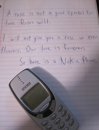 Love letter about Nokia durable design