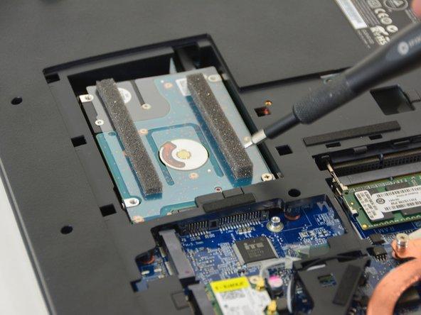 Orten Sie die HDD Festplatte.