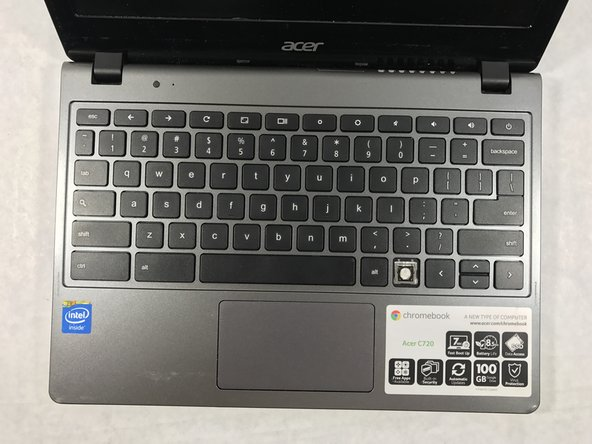 Acer Chromebook C720-2103 A Single Key Replacement