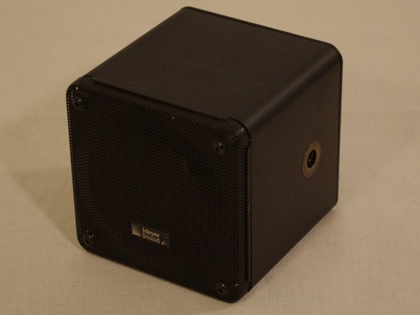 Disassembling Meyer Sound MM-4 Ultra Compact Wide-Range Loudspeaker Case