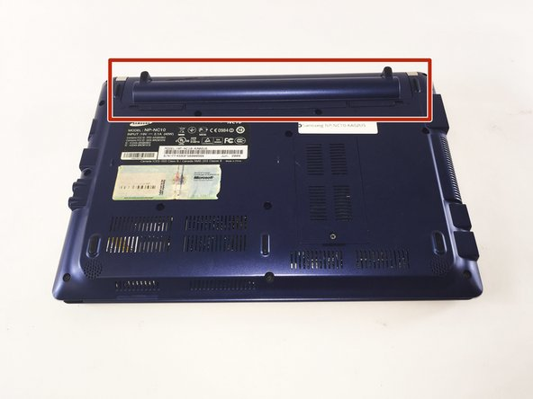 Samsung NP-NC10-KA02US Battery Replacement