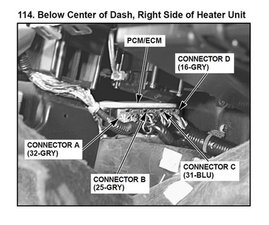 SOLVED: Where is the computer to the transmission located? - 1998