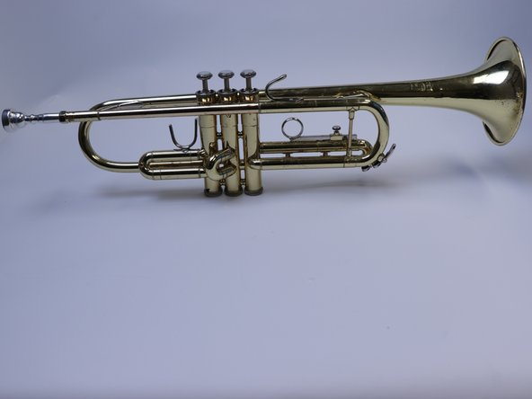 Vincent Bach Trumpet Disassembly and Cleaning