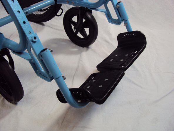 Reattaching the GEN 2 Wheelchair Foot Support