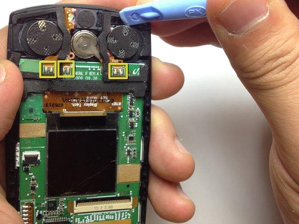Remplacement du haut-parleur du Samsung SGH-A707
