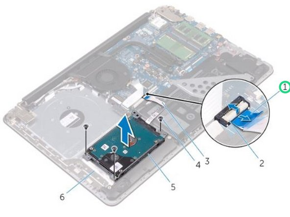 Dell Inspiron 15 5565 Hard Drive Replacement