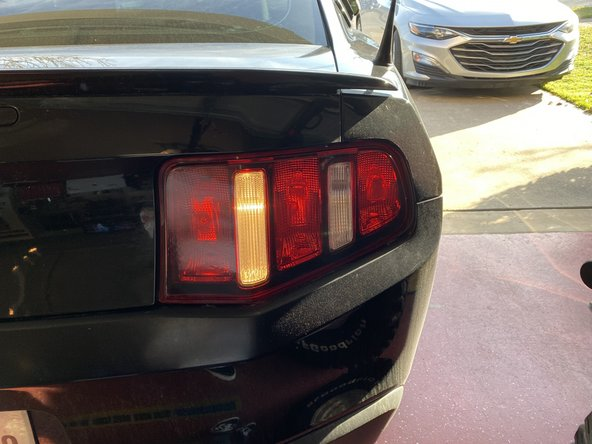 2010-2014 Ford Mustang Reverse Light Bulb Replacement