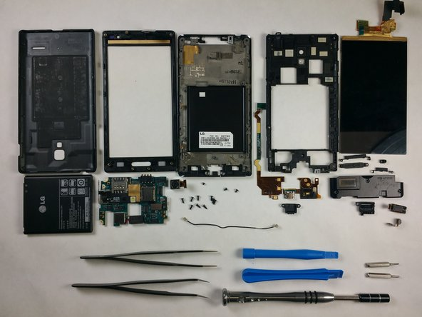 Here's what LG's L9 P769 holds hardware-wise: