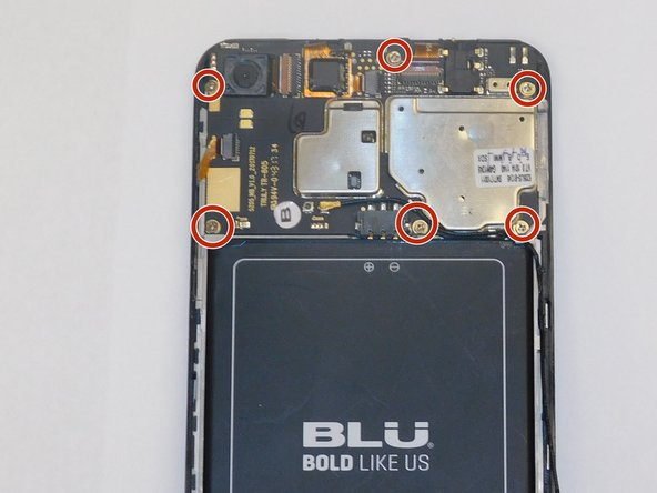 Once the back panel is removed, locate the connector of the display shown in figure 1  on the motherboard side.