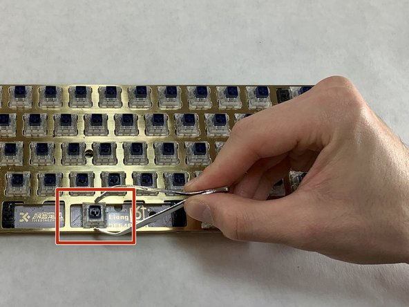 Do not pull in any direction other than straight up. Not pulling straight up will damage not only the switch, but also the PCB keyboard itself.
