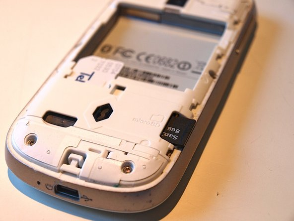 REMEMBER to remove the simcard and microSD card. If you do not they'll be damaged when you remove them at a later stage.