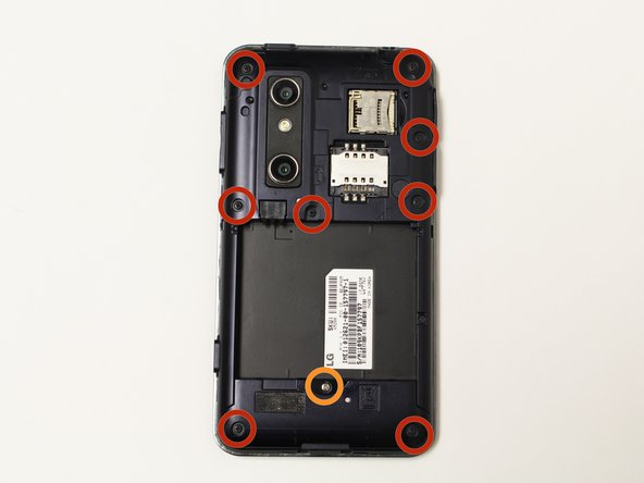 LG Optimus 3D MicroSD/SIM Card Board Replacement