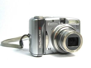 Canon Powershot A720 IS Repair