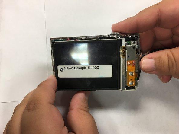 Nikon Coolpix S4000 Screen  Replacement