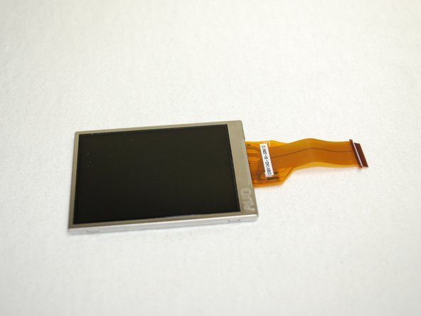 Image 2/3: The LCD Screen should be completely separated from the camera now.