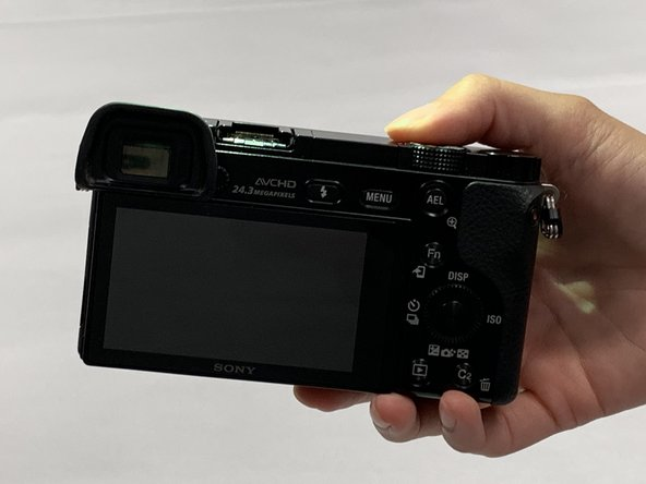 Sony α6000 Battery Replacement