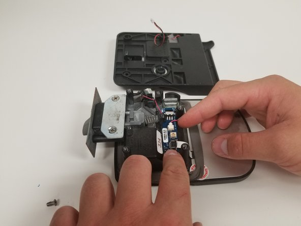 Make sure the wire is not place somewhere near a moving part or where it is pinched (i.e. pinched between the circuit board and the housing.)