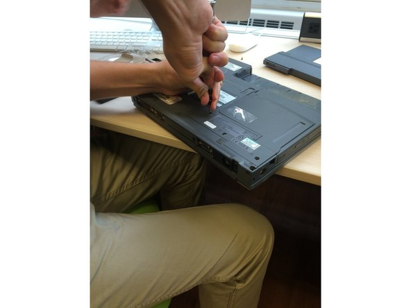 Image 3/3: (If screws are severely stripped, the use of pliers and tweezers may be necessary.