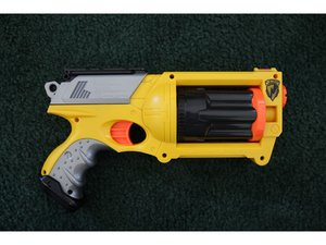 Nerf N-Strike Maverick Trigger Repair