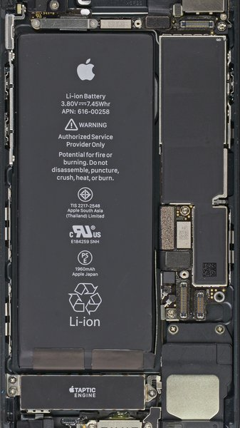 Turn Your Phone Inside Out IPhone 7 And Plus Internals Wallpapers