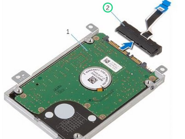 Disconnect the interposer from the hard drive.