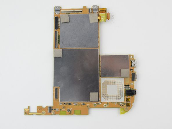 Be extremely careful with the removed circuit board. It contains fragile components that if damaged may result in the device not functioning properly.