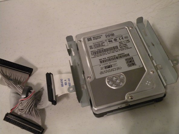 iMac G3 Model M4984 Hard Drive Replacement