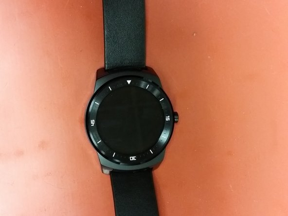 LG G Watch R assembly.