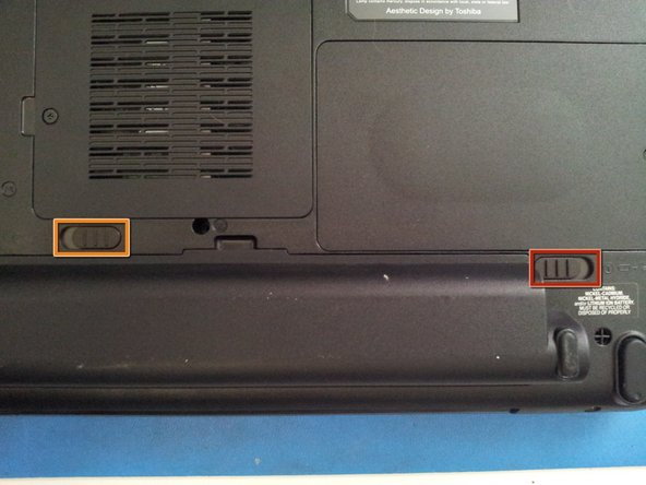 Toshiba Satellite A505 series Battery Replacement