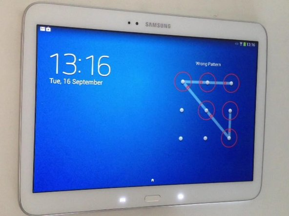 samsung galaxy tab 3 10 1 screen replacement ifixit. Black Bedroom Furniture Sets. Home Design Ideas