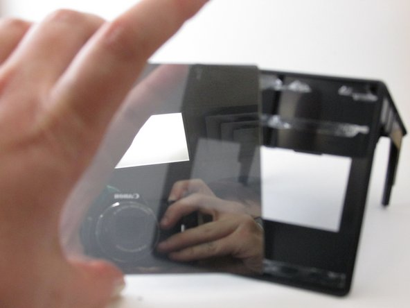 Image 1/2: Another way to solve the brightness problem is to apply a tinted color sheet protector.