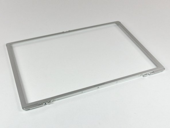 "PowerBook G4 Aluminum 15"" 1.67 GHz Front Display Bezel Replacement"