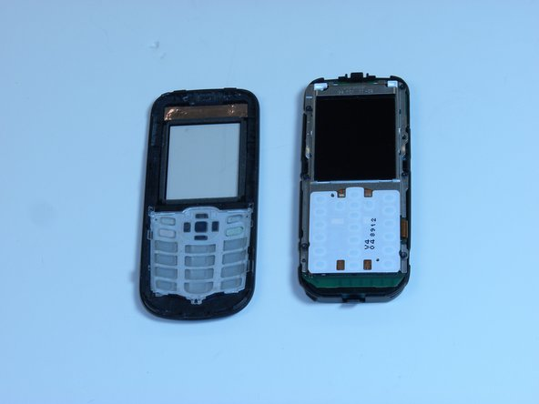 Replacing Nokia Classic 2600c-2b Faceplate