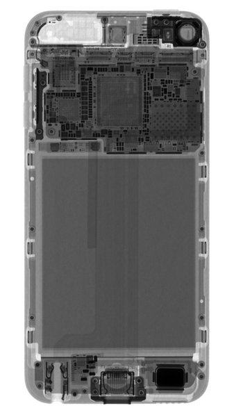 iPod 7 x-ray view