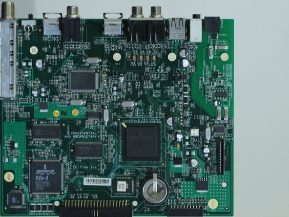 TiVo Series 2 TCD540080 Motherboard Replacement