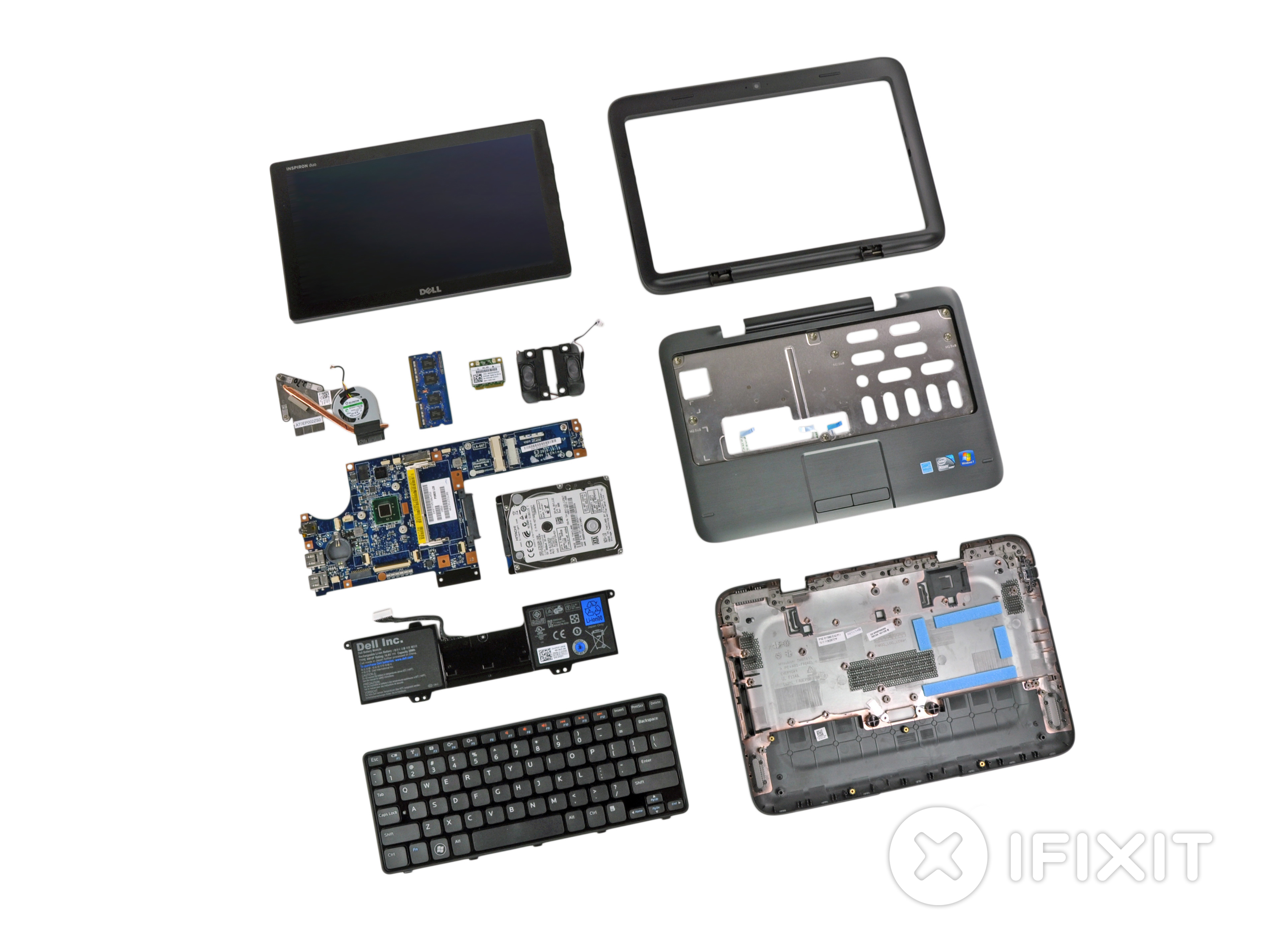 Dell Inspiron Duo Repair - iFixit