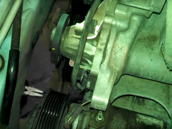 2002 2006 Toyota Camry Water Pump Replacement 2002 2003